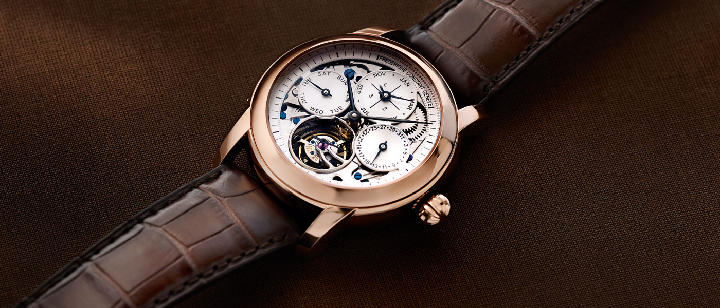 "Frédérique Constant: ""Bridging connection and complication"""