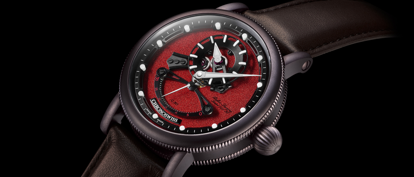 Chronoswiss Open Gear ReSec Chocolate