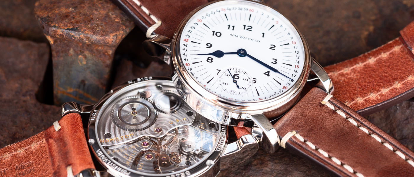 RGM adds new Railroad dial version to the Model 222-RR series