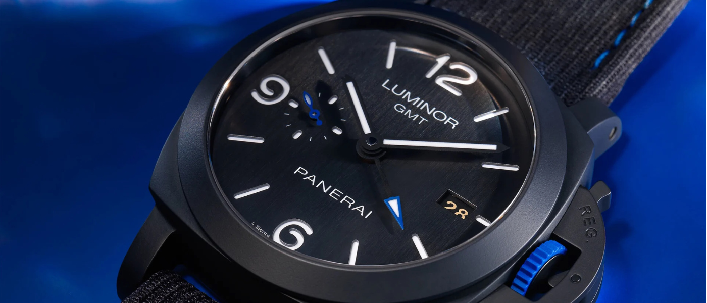 Panerai Luminor GMT Bucherer BLUE special edition