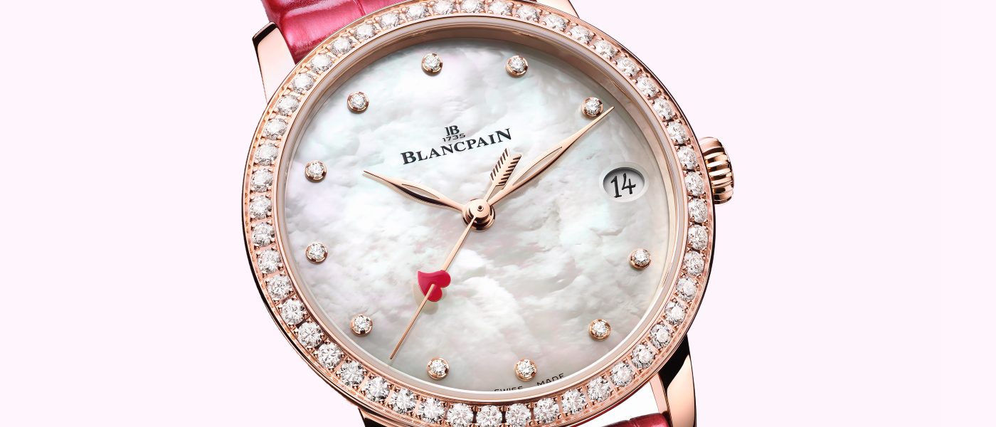 Blancpain previews Valentine's Day 2021