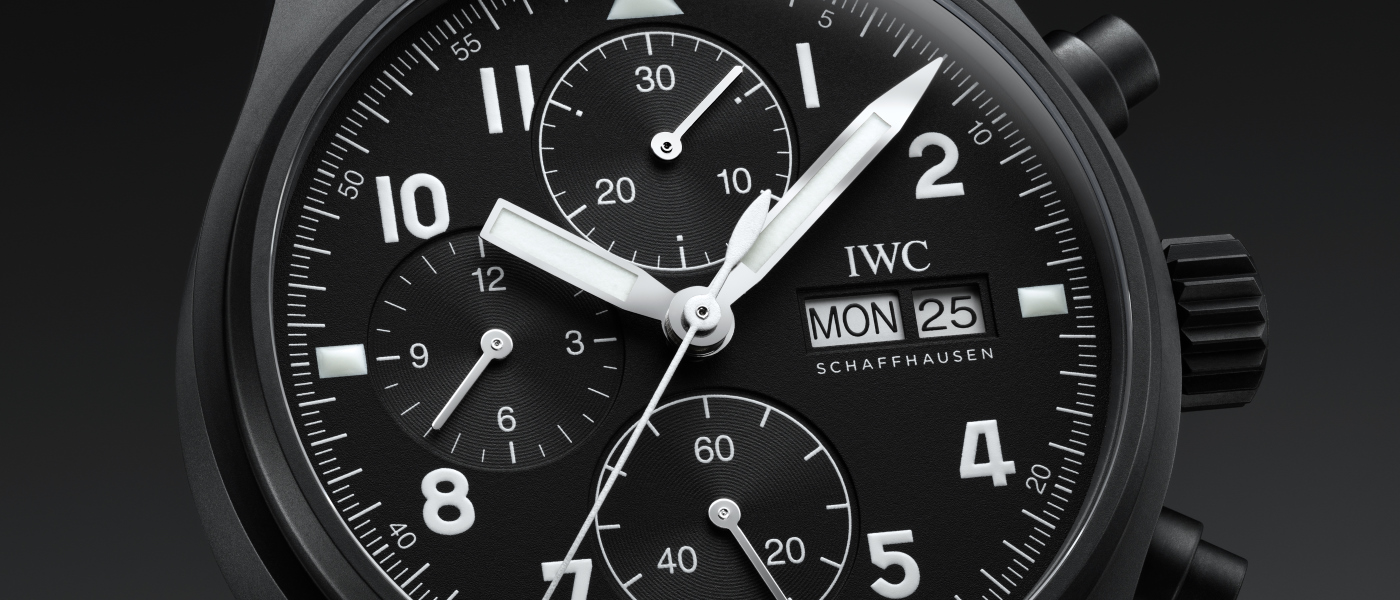 "IWC Pilot's Watch Chronograph Edition ""Tribute to 3705"""