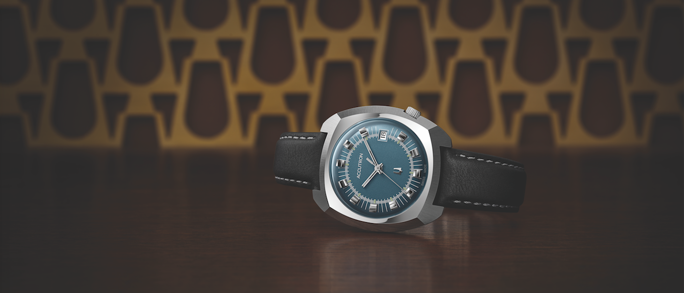 "Accutron revives iconic ""TV Watches"""