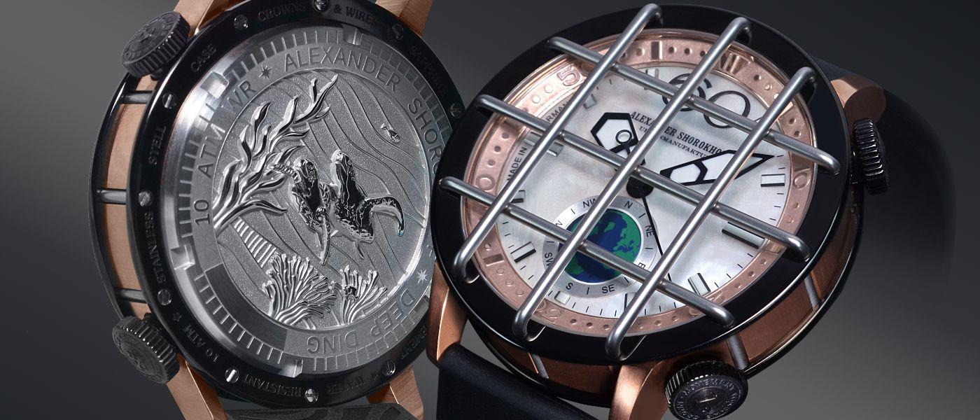 Alexander Shorokhoff unveils its first diving watch