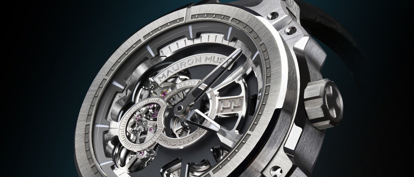 Presenting Mauron Musy's first ever skeletonised watch