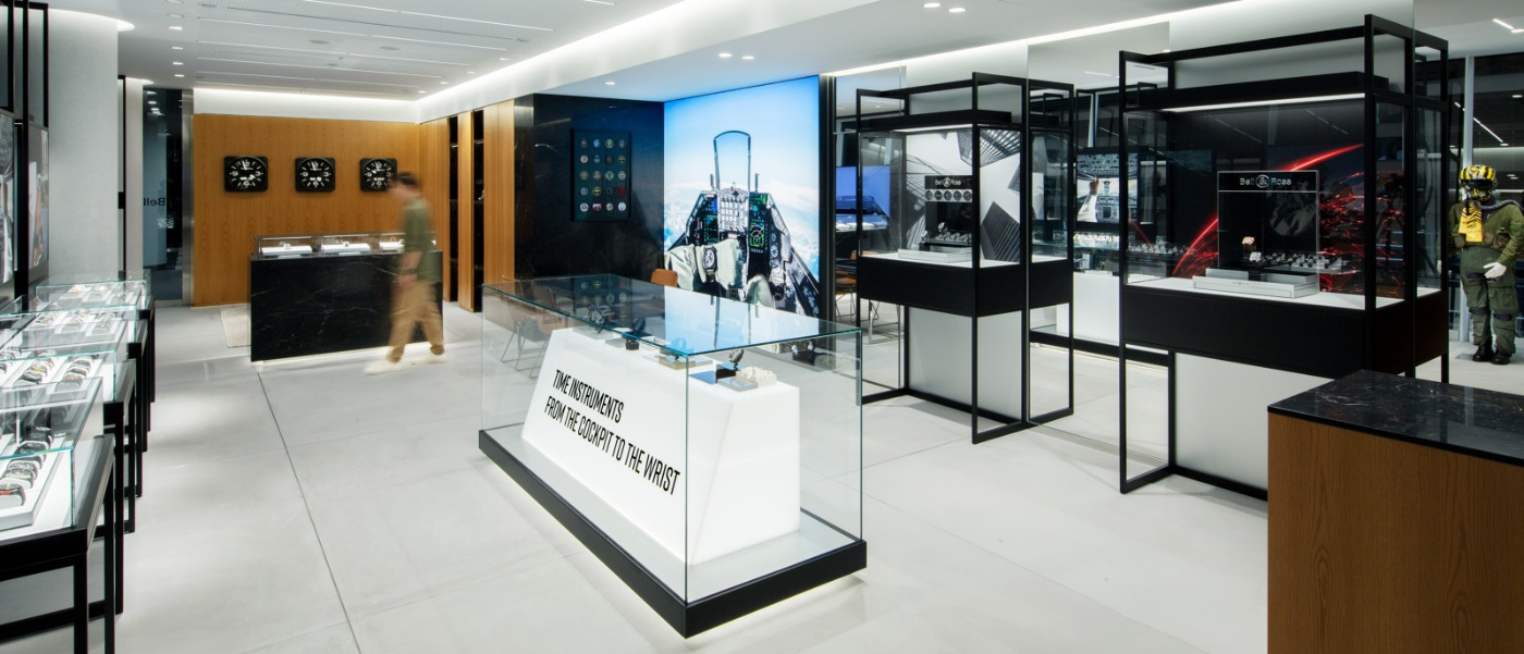 Tokyo welcomes its first Bell & Ross boutique