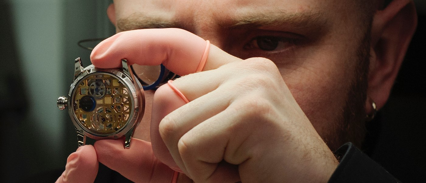 "A Swiss R&D team introduces ""hosted watch manufacturing"""