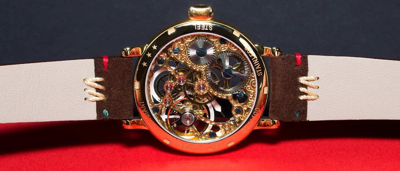 """New """"Beringo"""" skeleton watch from Poljot"""