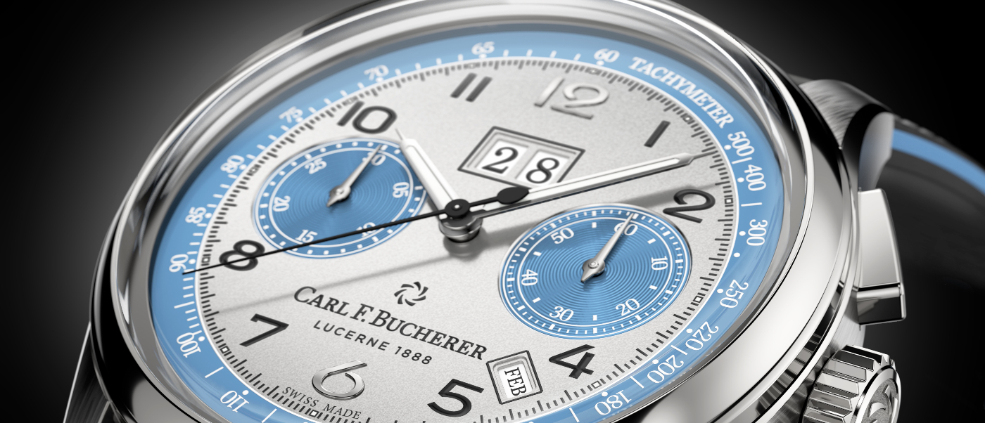 Carl F. Bucherer: a unique Bicompax edition for Only Watch