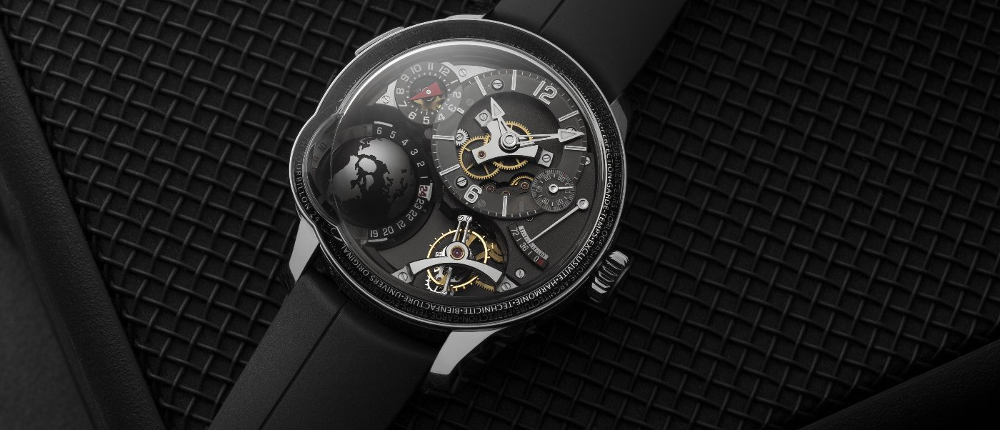 Greubel Forsey: a new version of the GMT Earth