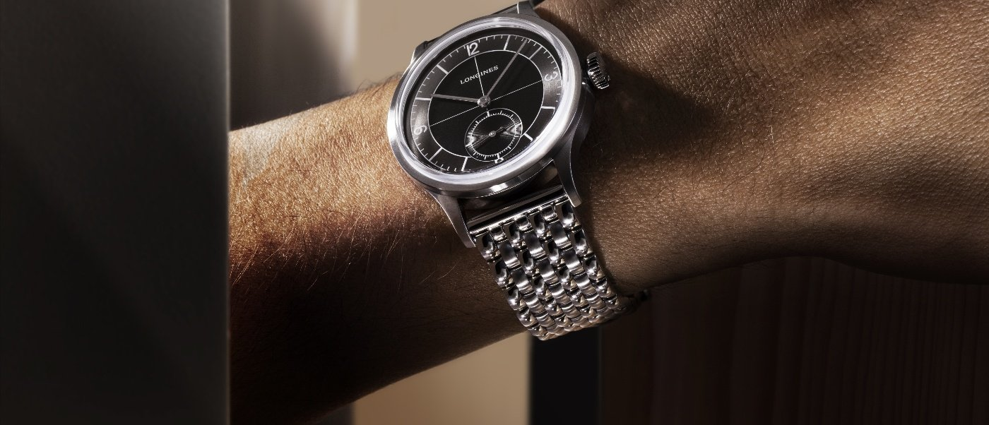 Presenting the Longines Heritage Classic with sector dial