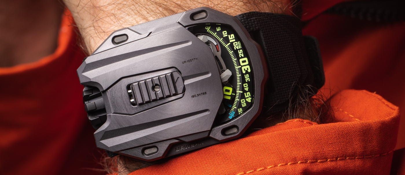 Urwerk: a last edition in Tantalum for the 105 Collection