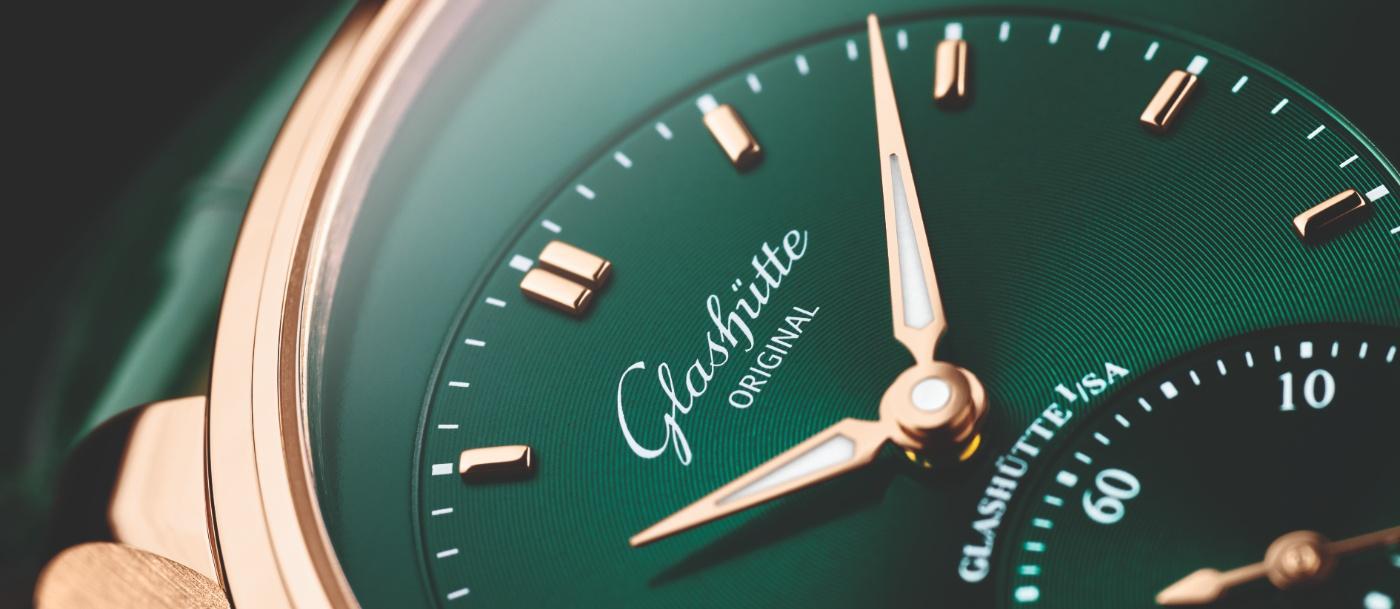 Glashütte Original: the PanoMaticLunar now in lush green