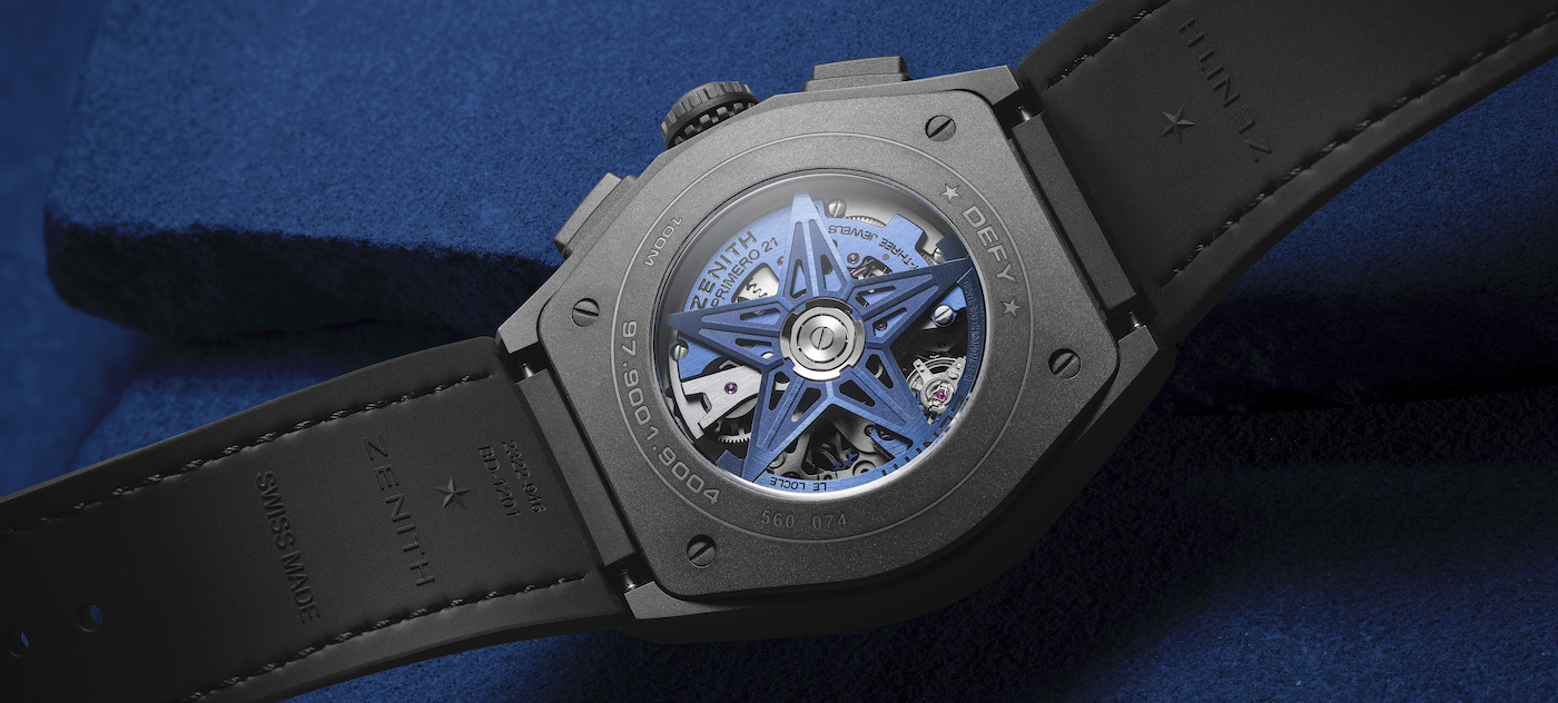 Zenith explores new frequencies with the Defy 21 Ultrablue