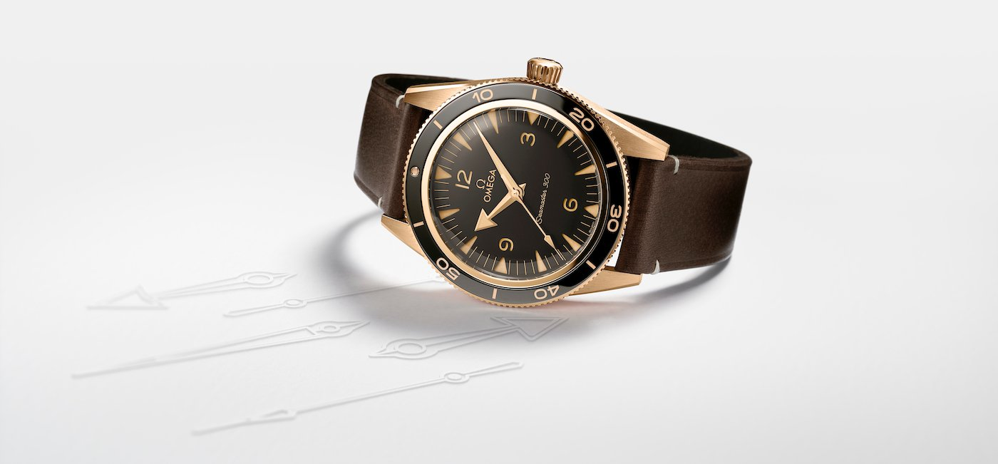 Introducing Omega's new Seamaster 300, including Bronze Gold