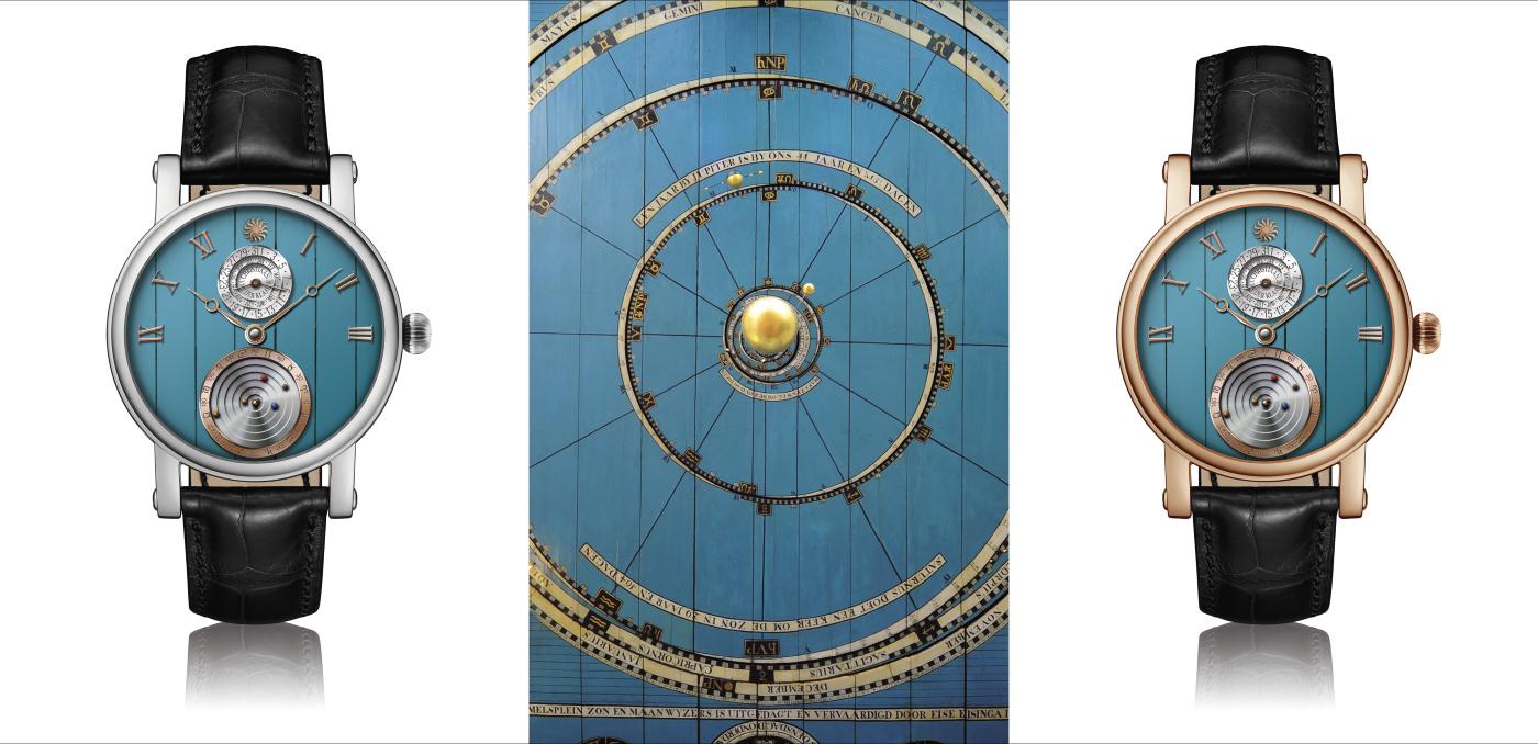 Christiaan van der Klaauw: the smallest mechanical Planetarium in the world