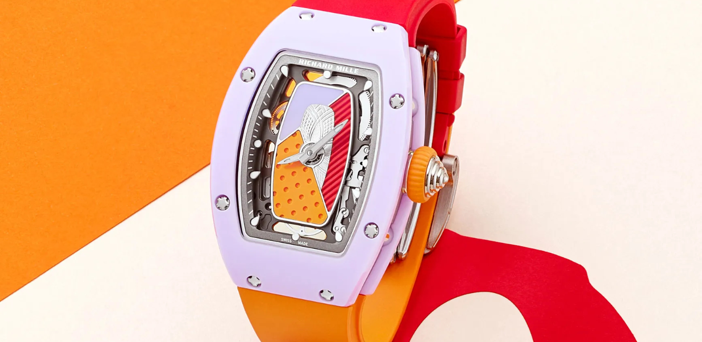 New summer colours for Richard Mille's RM 07-01 collection