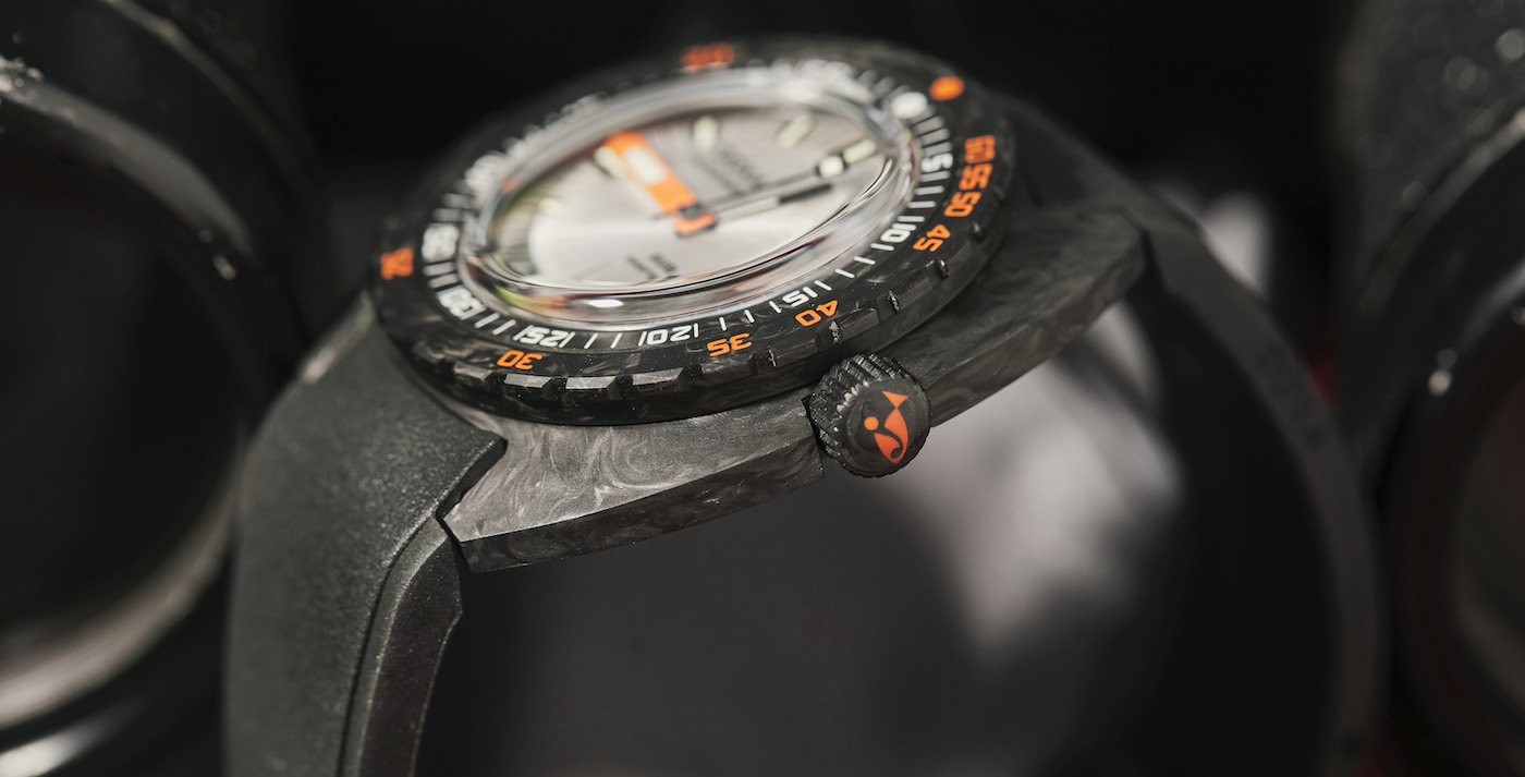 The Doxa SUB 300 carbon COSC embraces new colours