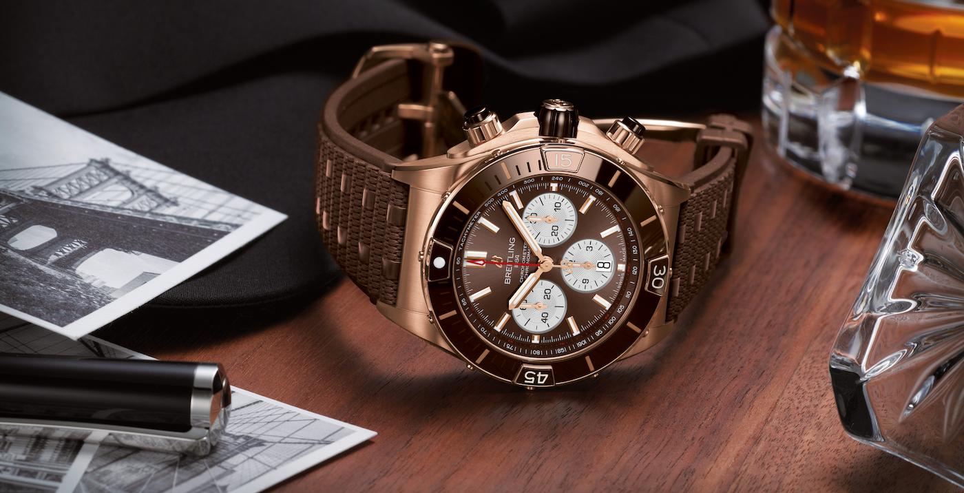 Breitling presents the new Super Chronomat