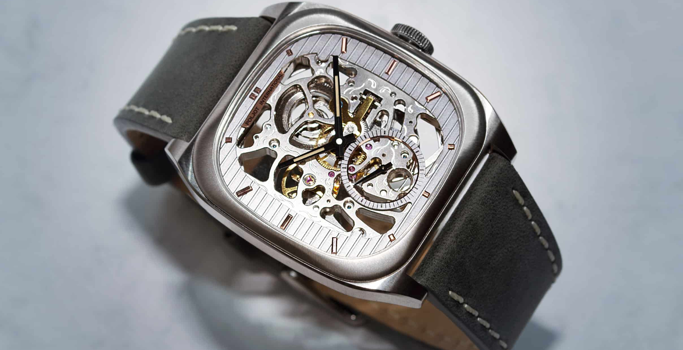 Bolshoi: a new square watch by Poljot-International