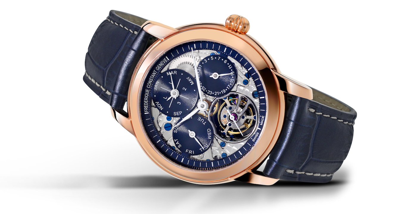 Two limited editions of the Tourbillon Perpetual Calendar Manufacture were launched on the occasion of this inauguration