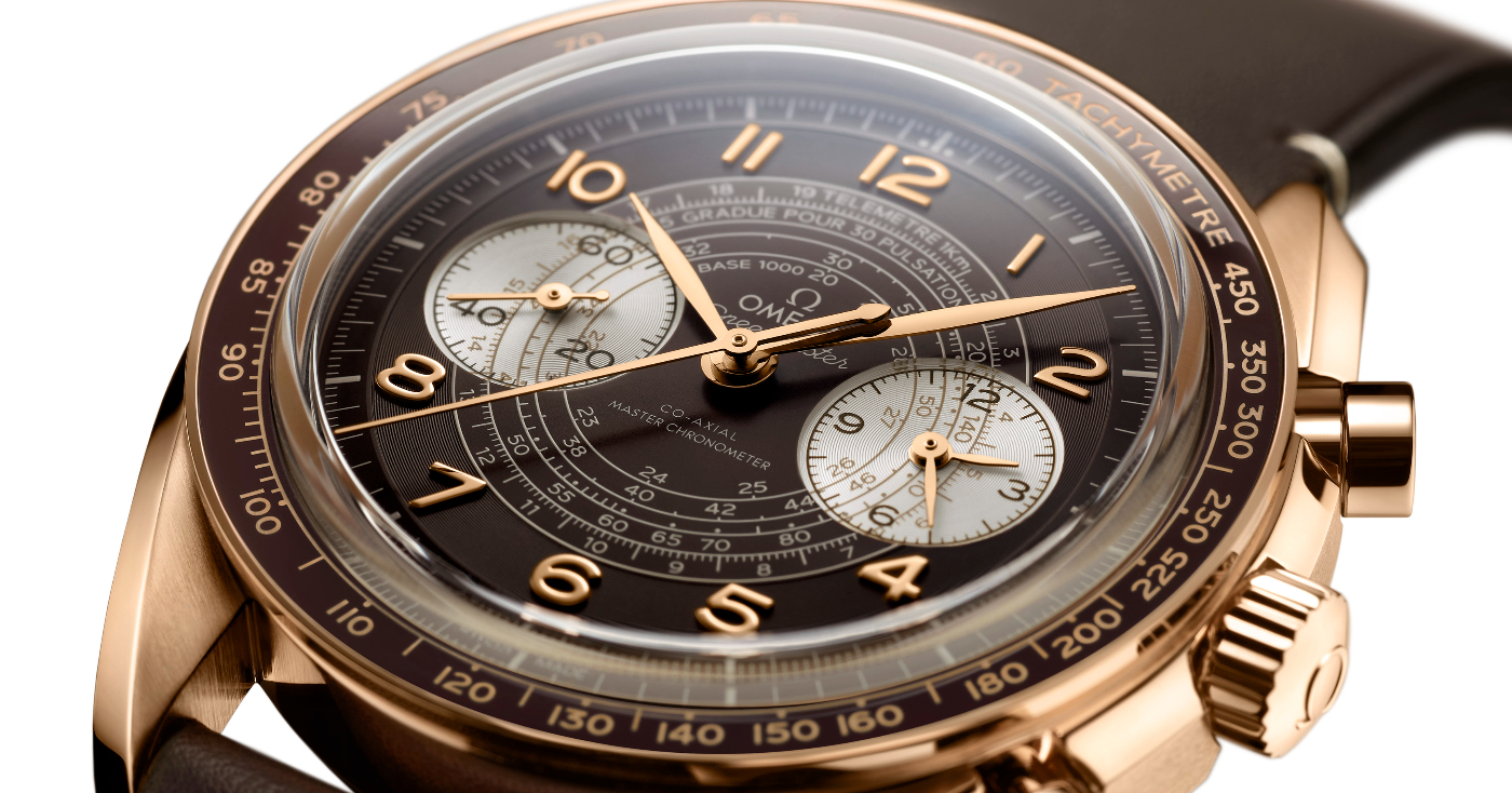 The Omega Speedmaster Chronoscope line makes its mark