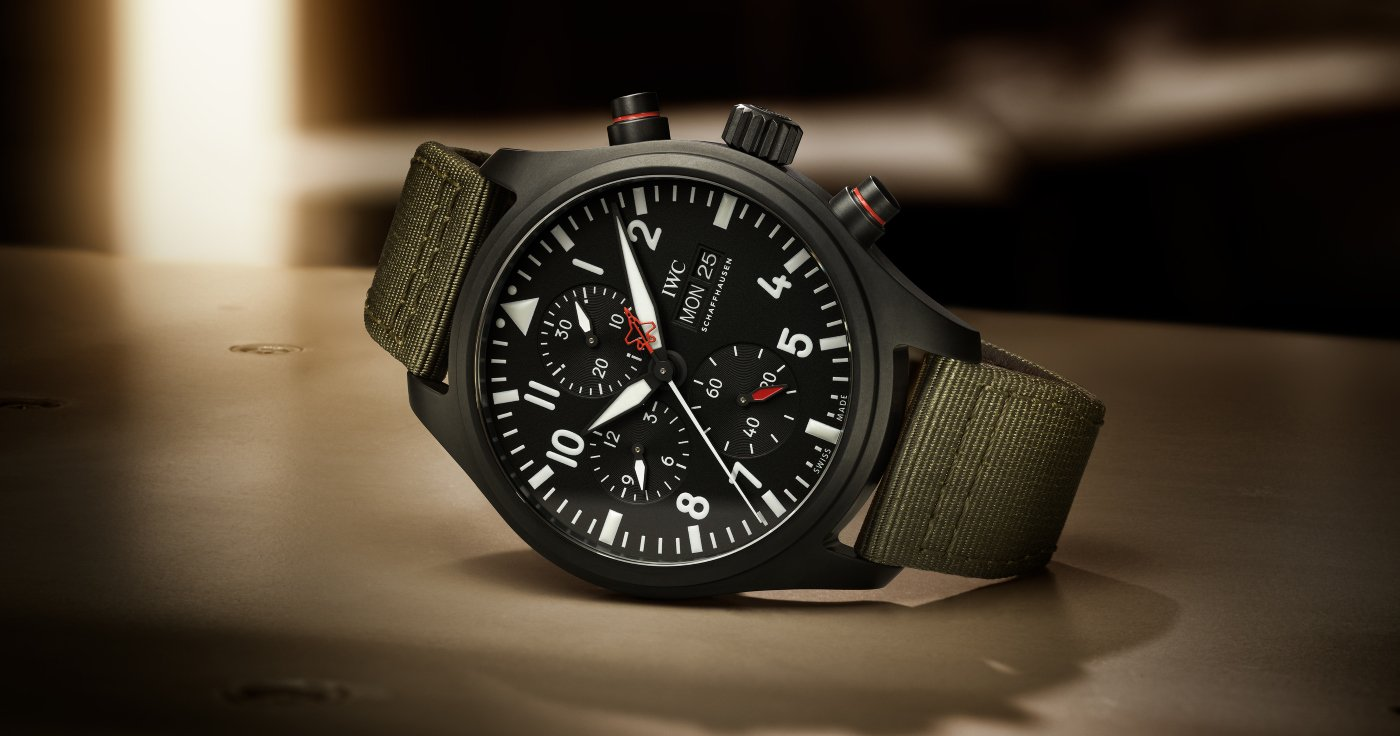 "IWC presents the Chronograph Top Gun Edition ""SFTI"""