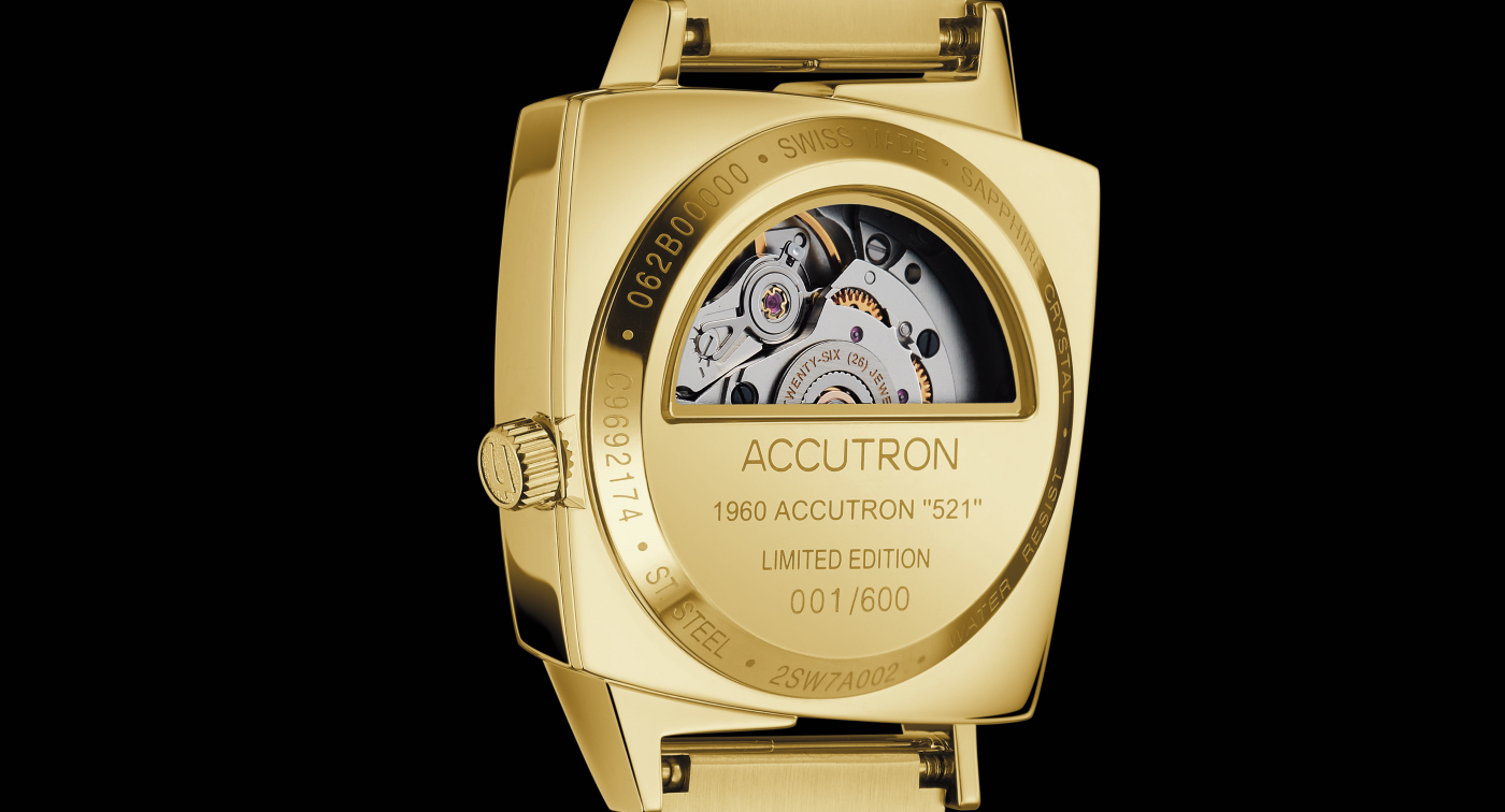 Accutron Presents The Legacy 521 Timepiece