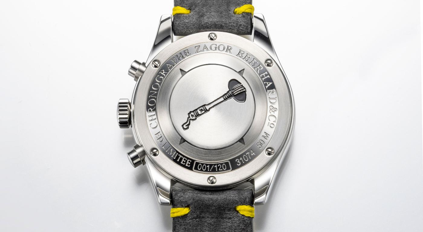 Eberhard & Co.: a chronograph dedicated to cartoon hero Zagor