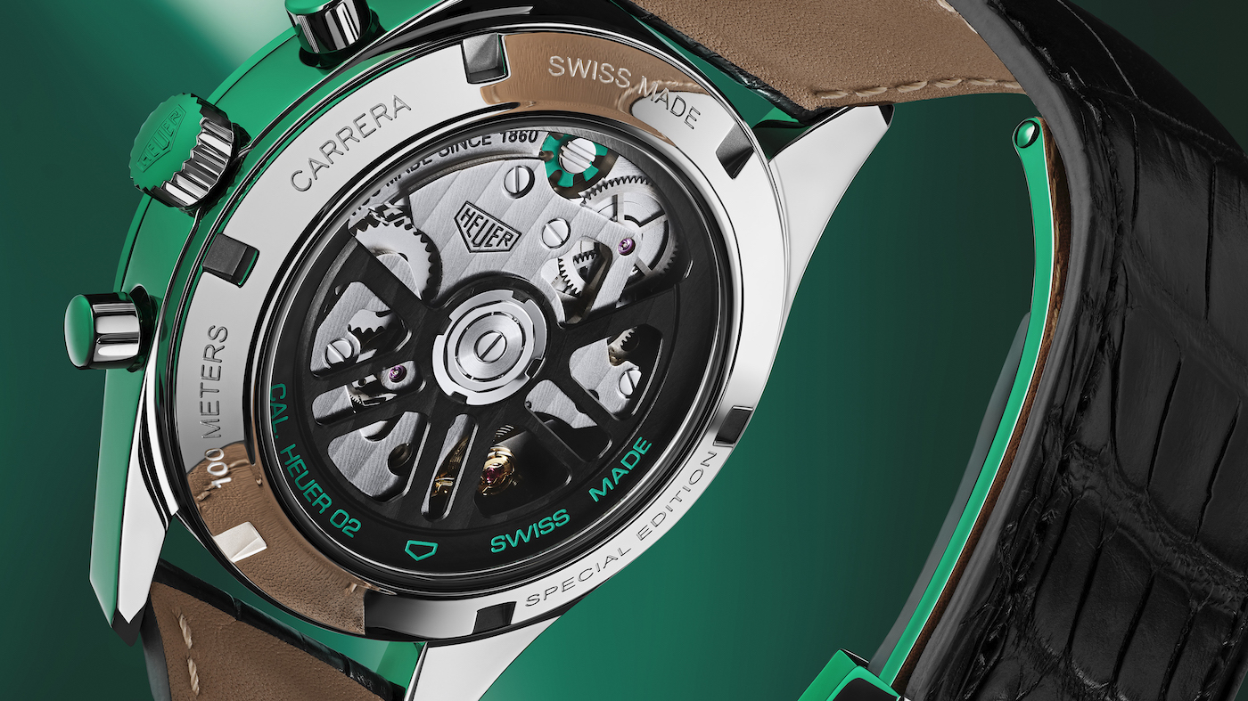 TAG Heuer unveils the Carrera Green Special Edition