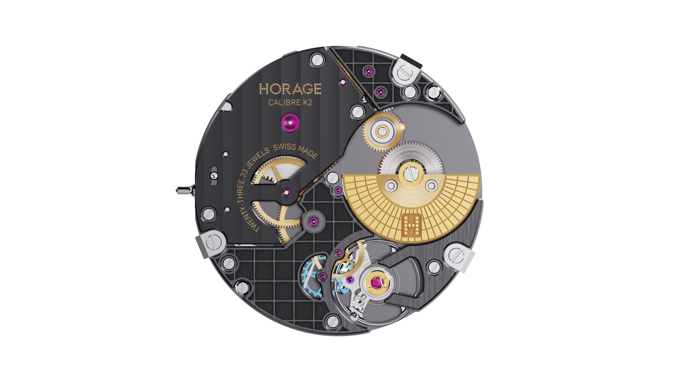 Horage announces a watch with micro-rotor and silicon hairspring