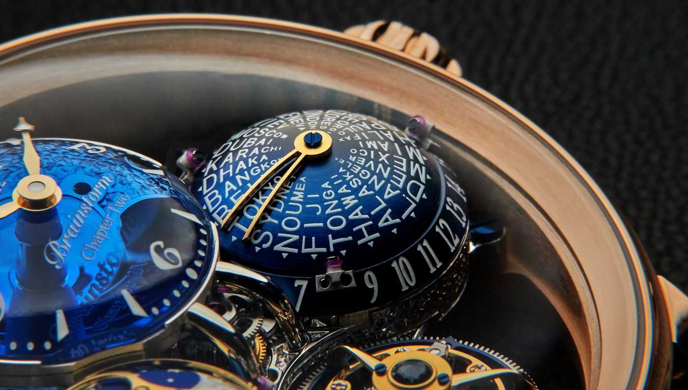 Bovet Récital 26 Brainstorm® Chapter Two now in 18K Red Gold