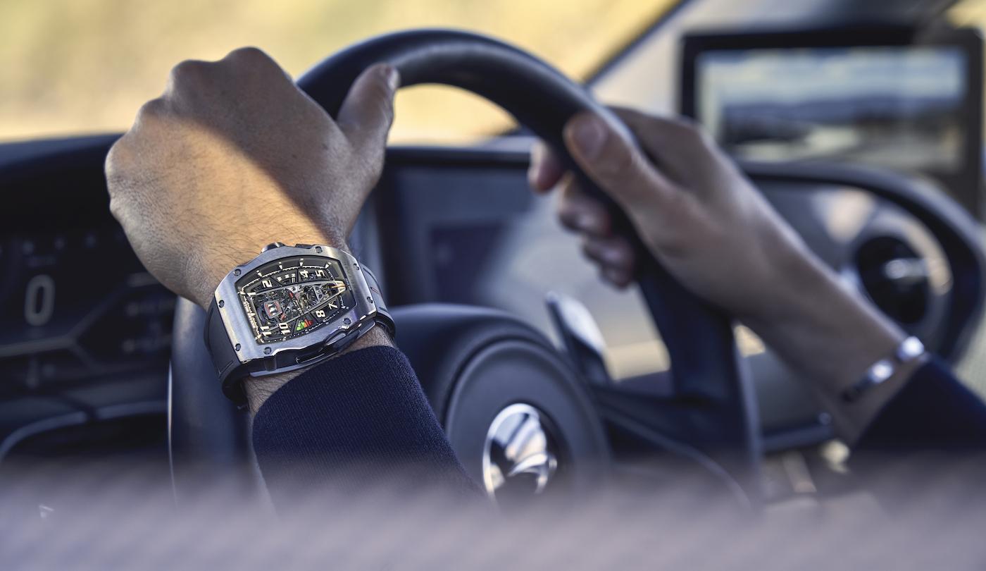 Richard Mille: a new timepiece inspired by McLaren's Speedtail