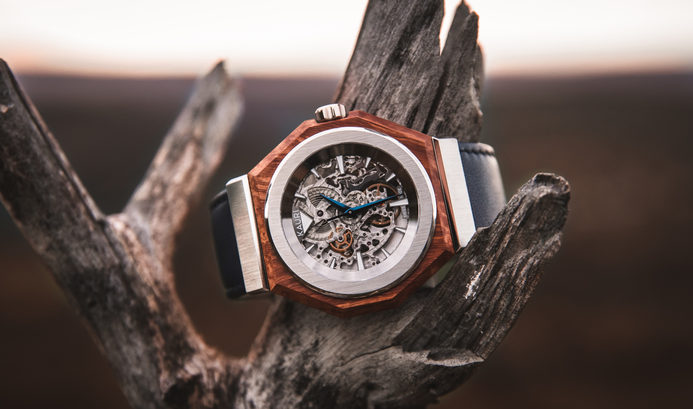 Kauri, an independent watchmaker's journey