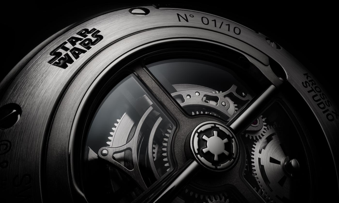 Kross Studio crafts a Star Wars set (including a tourbillon)