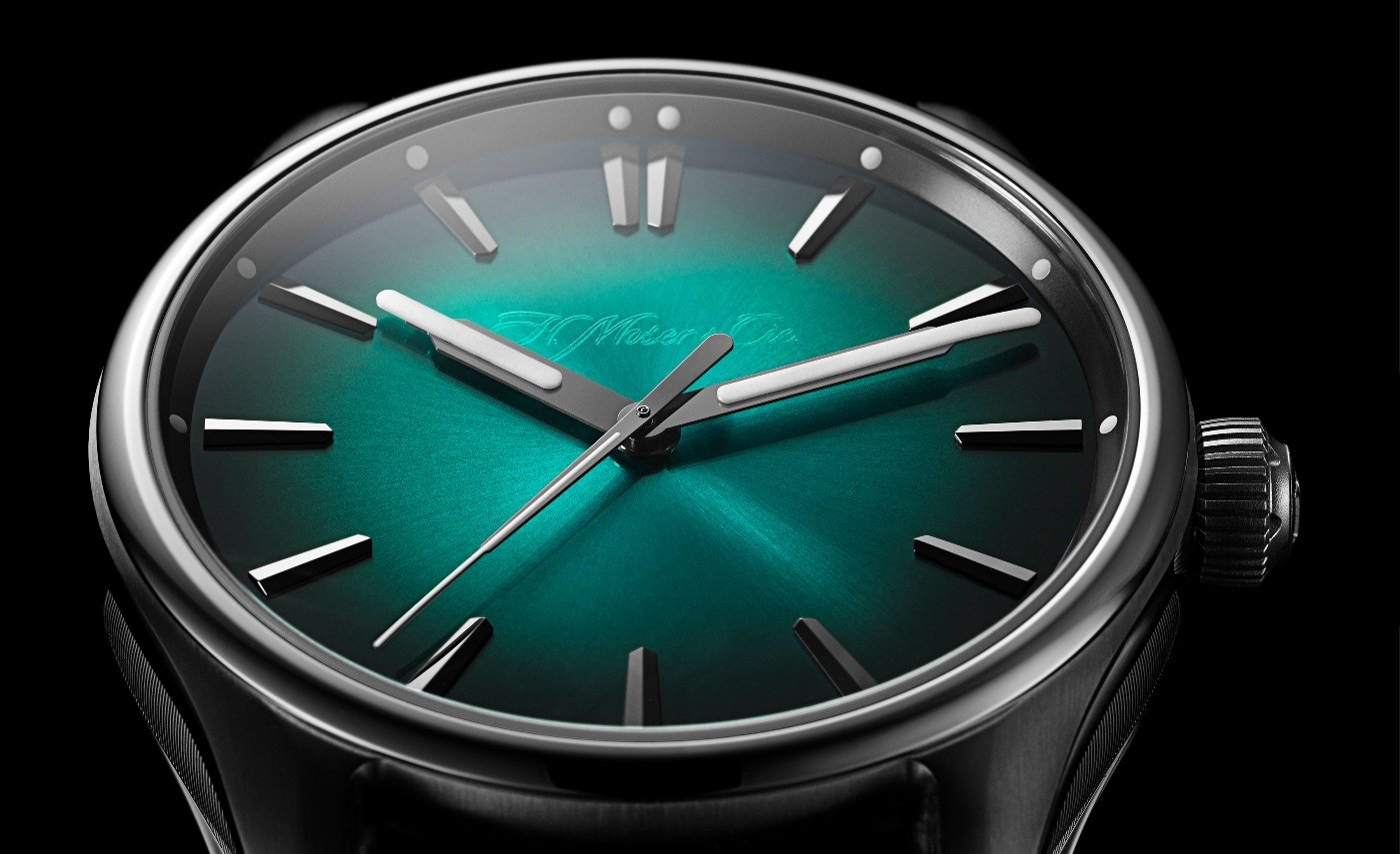 H. Moser & Cie: the new Pioneer Centre Seconds Mega Cool