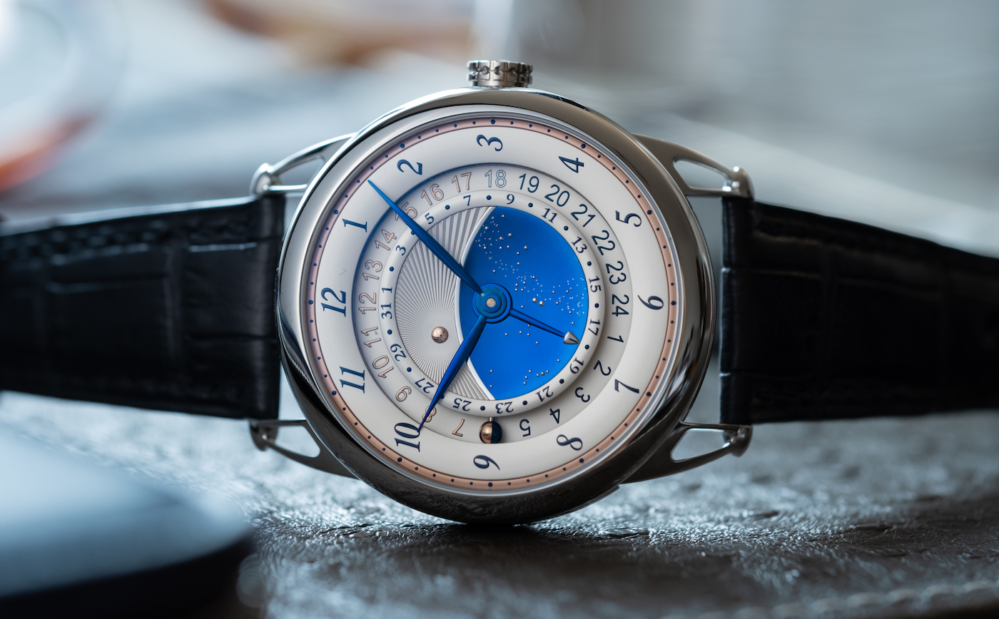 De Bethune's Starry Varius now with GMT function