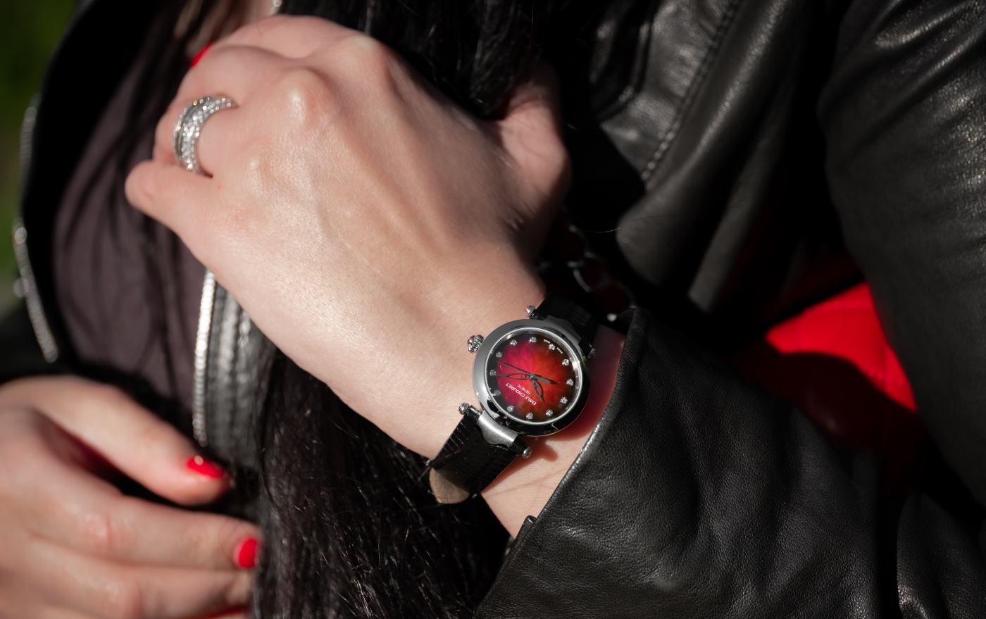 Emile Chouriet presents The Fair Lady Lotus Red