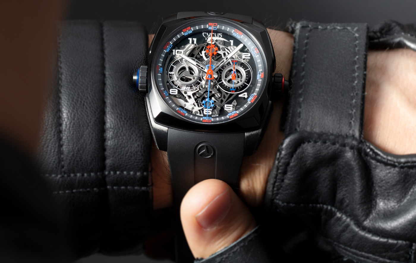 Cyrus unveils a double independent monopusher chronograph