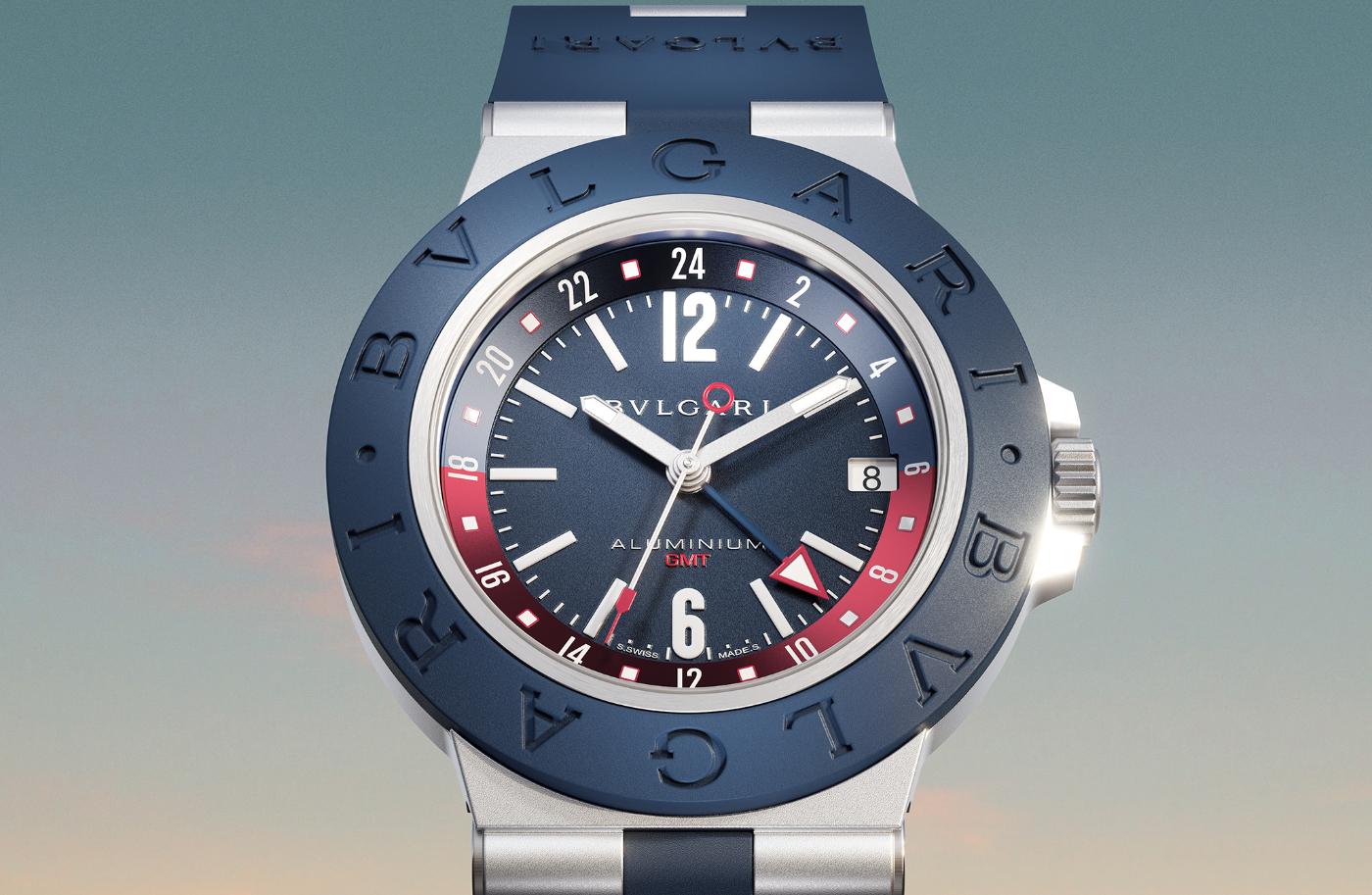 An introduction to Bulgari's new Aluminium GMT