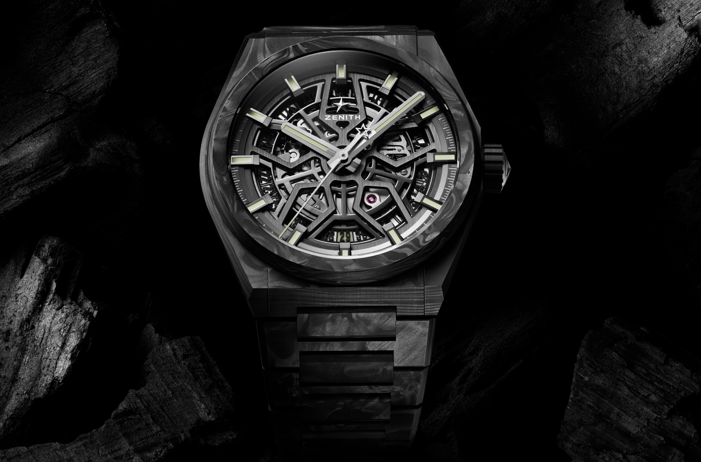 Zenith gives a carbon fiber makeover to the Defy Classic