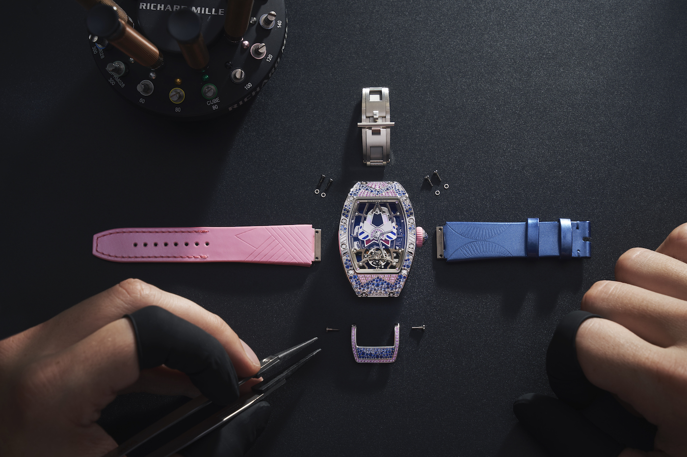 Richard Mille: breakthrough in jewellery watchmaking