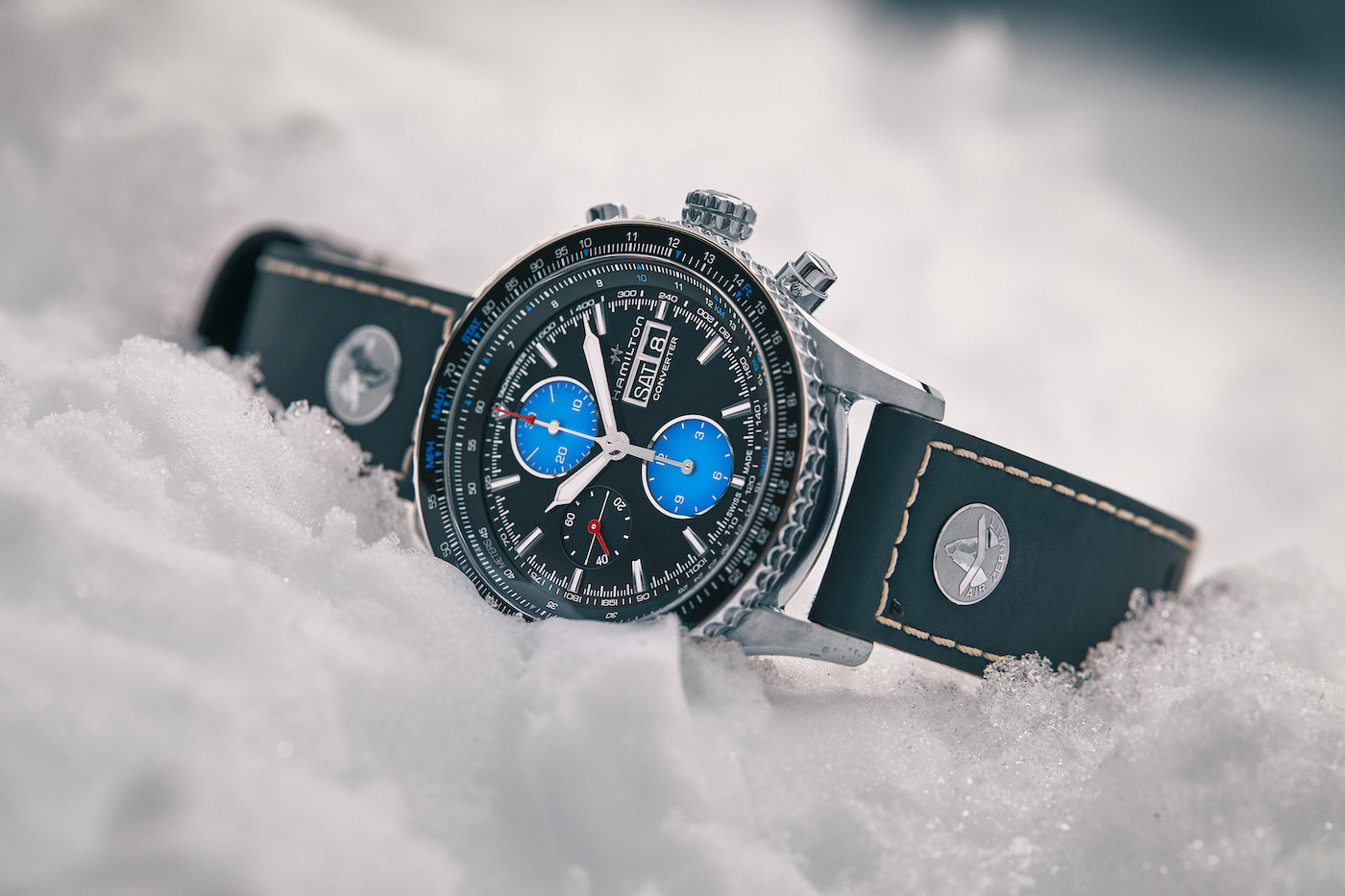 Presenting Hamilton's special timepiece for Air Zermatt