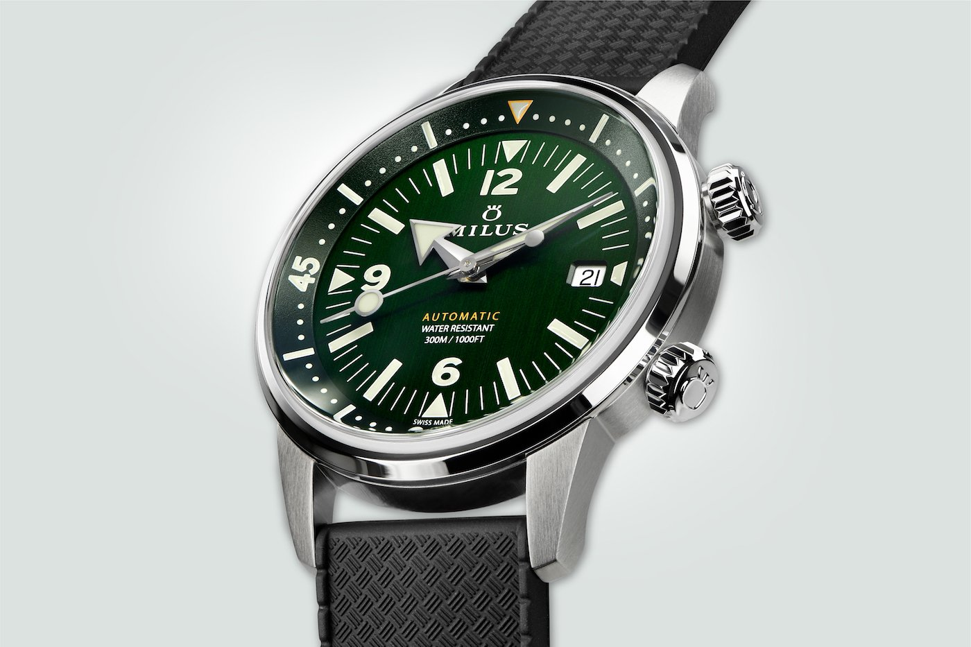 ARCHIMÈDES by Milus - Wild Green, MIH 01-001-180/230, CHF 1919.00