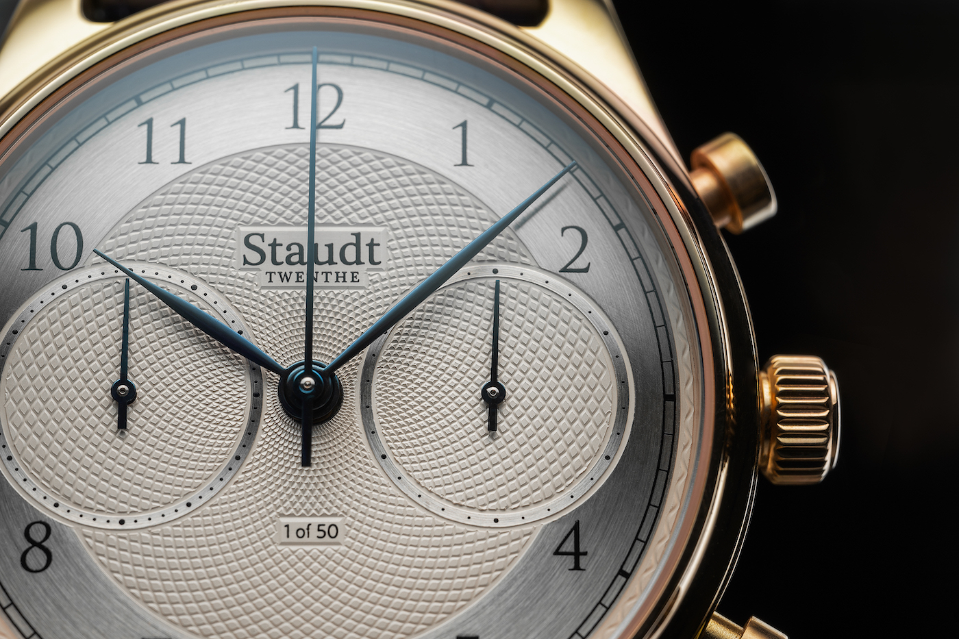 An introduction to Staudt's Guilloche Chronograph