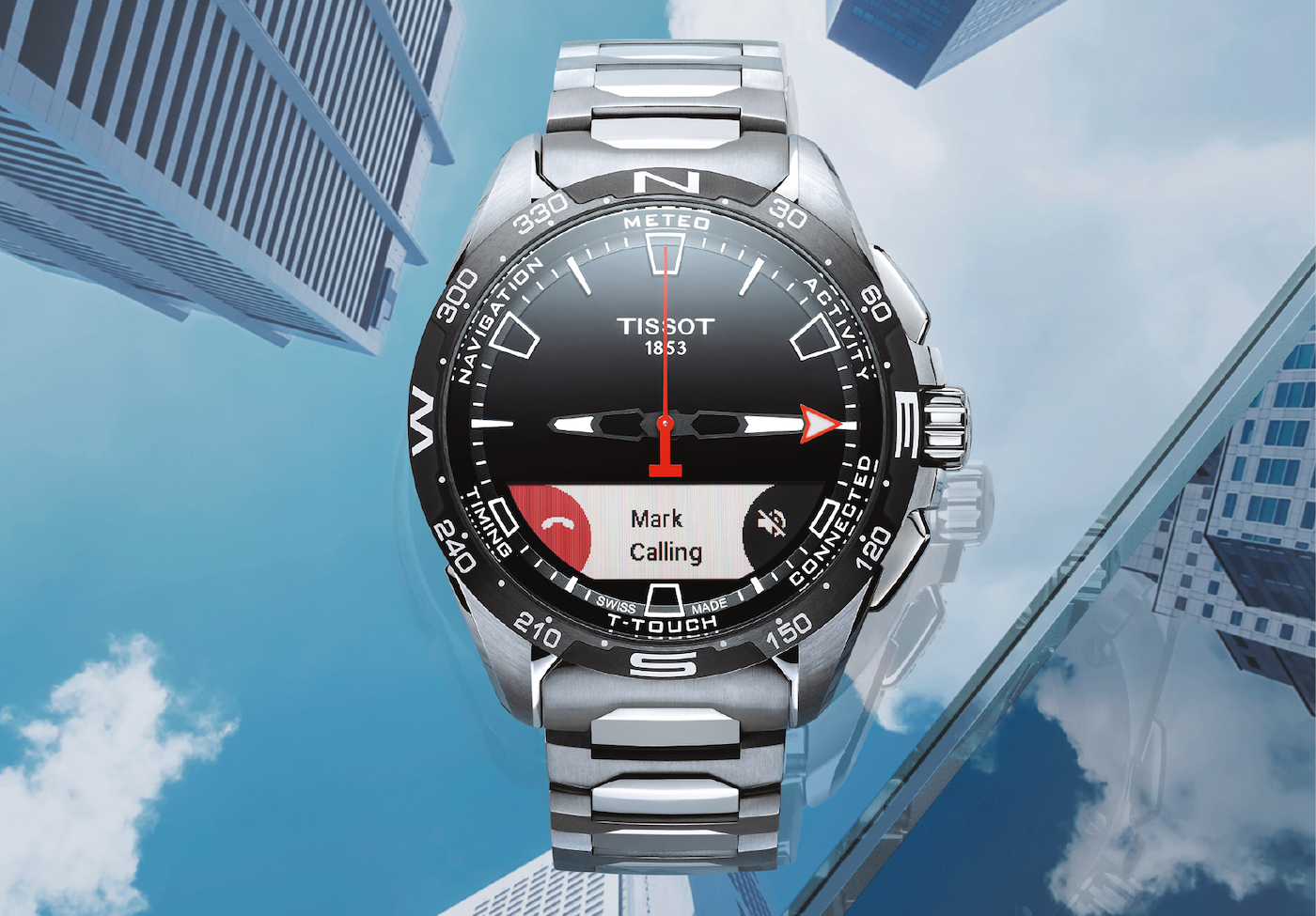 Tissot: connection without disruption