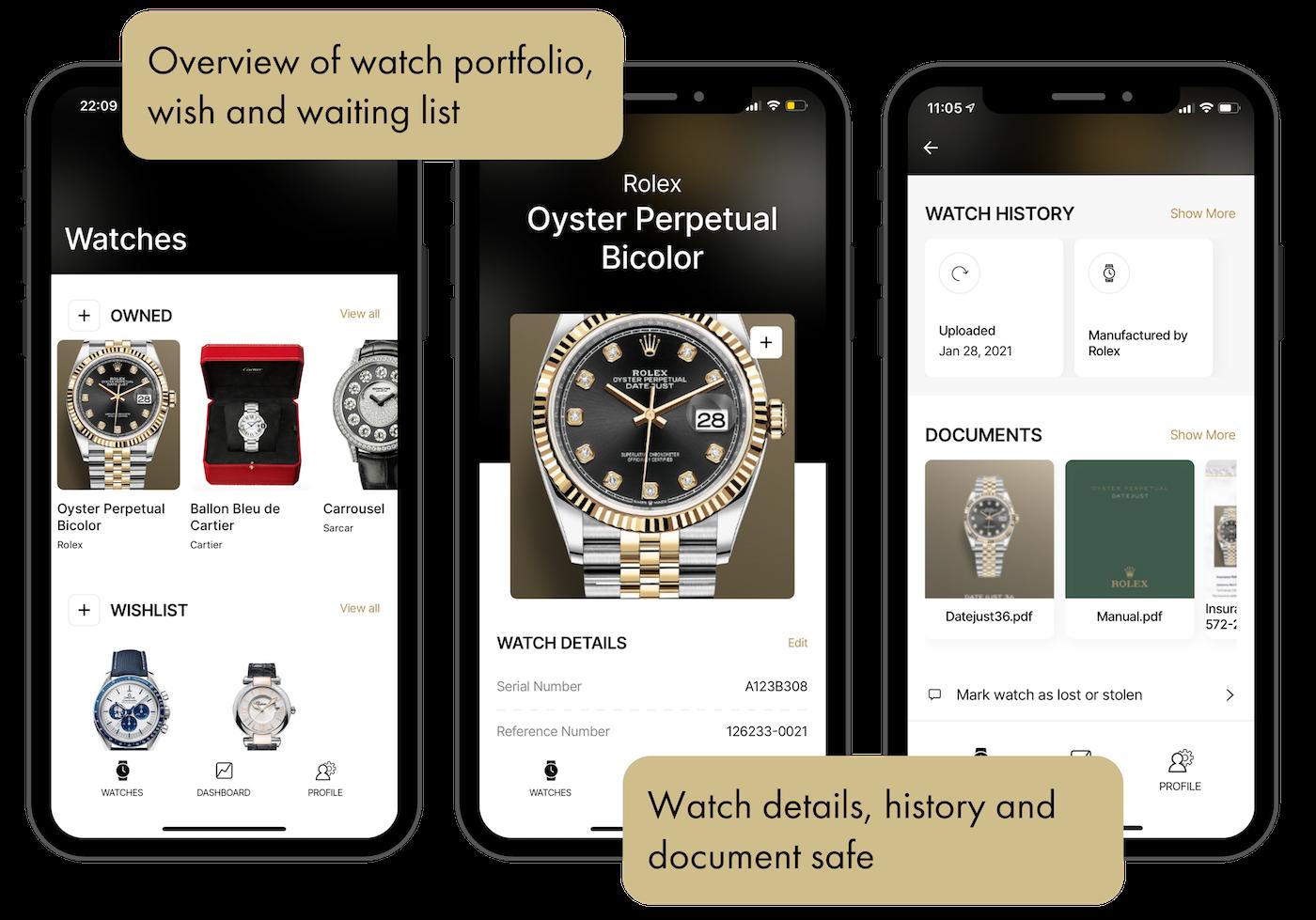 Swiss startup Adresta launches digital watch safe app