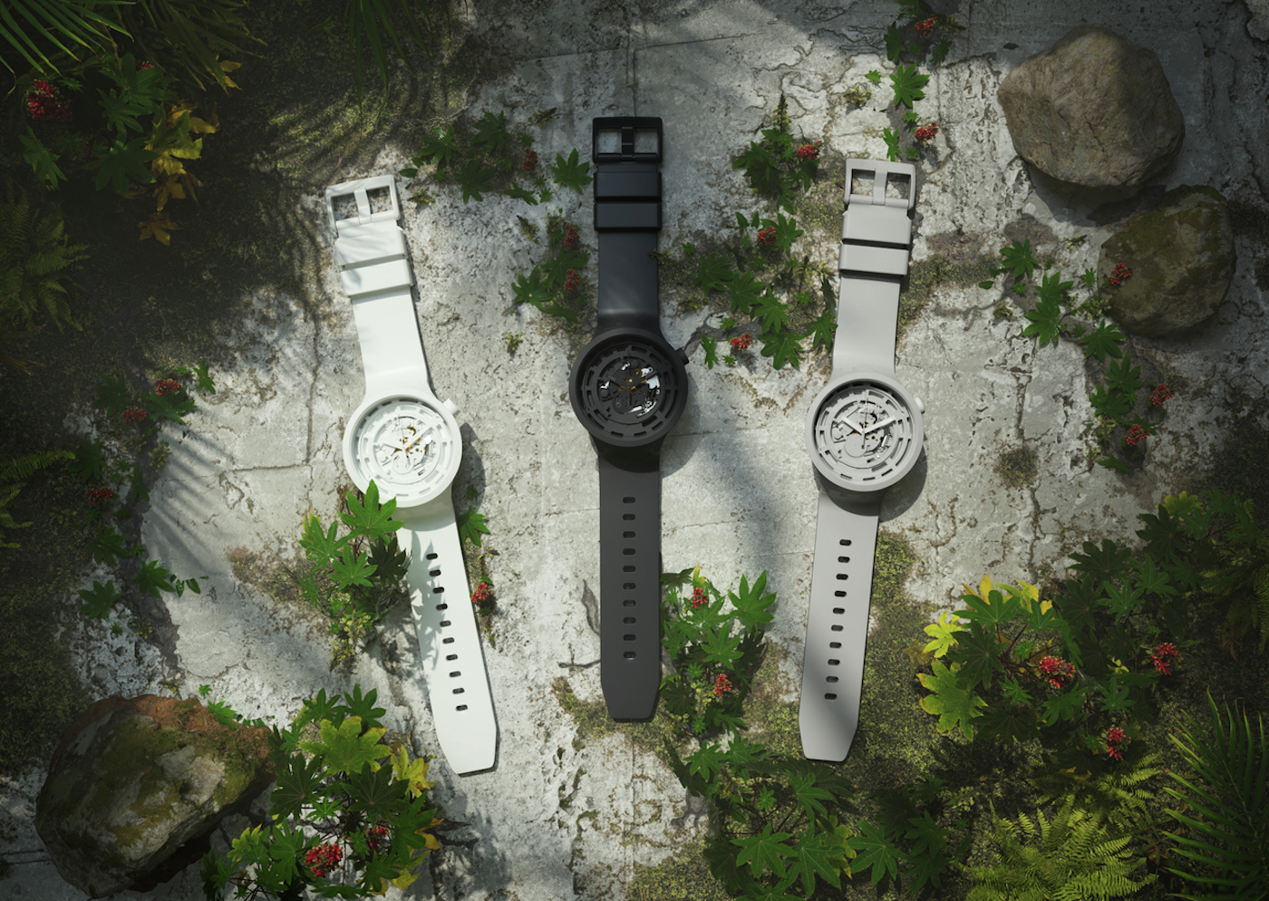 Swatch enters a new territory with the Bioceramic