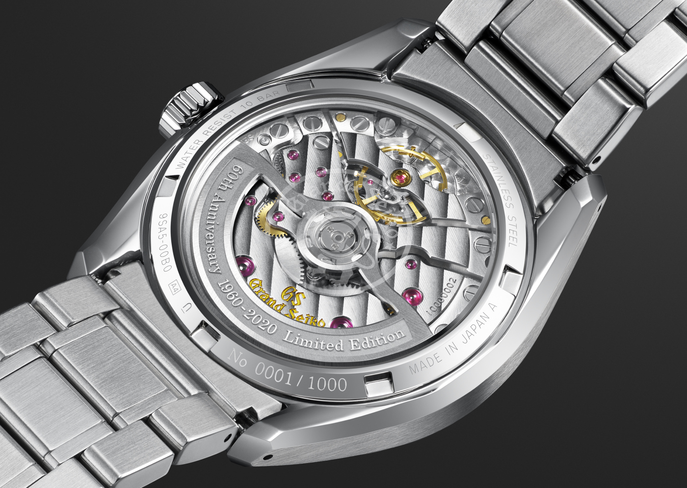 Grand Seiko's new addition to the 60th anniversary collection