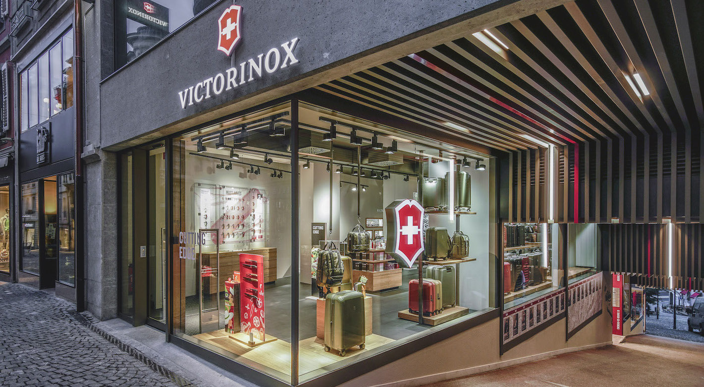 The new Victorinox store in Lausanne is the company's ninth boutique in Switzerland. Its target clientele will be mainly tourists.
